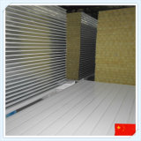 Гальванизированная панель сандвича шерстей утеса стального листа для стены