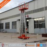 Enig/Dubbel/Lift van de Mast van het Aluminium van de Lift van de Mens van de Legering van het Aluminium van Drie/Vier Mast de Hydraulische