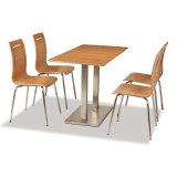 Mesa de jantar de café forte e forte