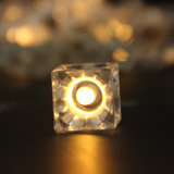 투명한 얼음 건전지 빛 얼음 펀던트 끈 빛 도매