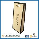 Otros Colores regalo bolsa de papel con manija de troquelado (GJ-Bag001)