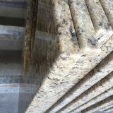 Dessus ornementaux de vanité de salle de bains de granit de Giallo