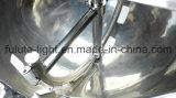 Chaleira de mistura Jacketed do vácuo do aço inoxidável