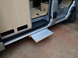 CE Electric Side Door Step Side Door Ladder per Caravan