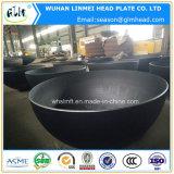 炭素鋼の半球ヘッドによって皿に盛られる端