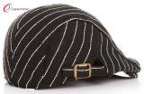Kid Unisex L del casquillo del sombrero de la boina de la raya