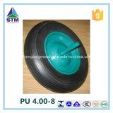 Pneu 2.50-4 da espuma da roda/poliuretano do trole do plutônio 3.00-4 3.50-4 4.00-8