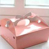 Handle를 가진 Eco-Friendly Cake Box/Cake Packaging Box/Food Paper Box