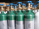 Cga870 Pin 유형 알루미늄 산소 실린더