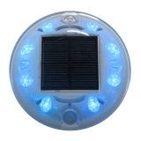 Nueva llegada 8 del PCS LED ojos de gato Solar carretera Reflector