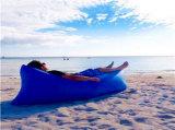 Sacco ad aria gonfiabile di sonno dello strato gonfiabile dell'aria del ritrovo di Lamzac del nylon di 100%