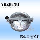 Couverture de trou d'homme ronde sanitaire de Yuzheng avec la glace de vue
