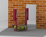 機械を塗るTupoの構築機械装置のデジタル壁