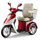 triciclo del freno de mano de la batería de 12V 20ah eléctrico para los ancianos