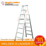 De Ladder van het Metaal van de Ladder van het Huishouden van de Ladder van het Aluminium van de Ladder van het Huis van het metaal