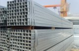 Tubulação de aço quadrada Pre-Galvanizada S235j2 de ERW