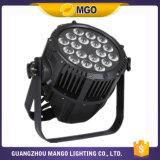 IGUALDAD impermeable 64 de la luz 18*18W LED de la etapa del precio de fábrica