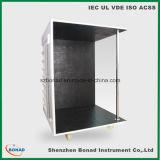 Esquina de la prueba del negro del termocople de la temperatura Clause11 del IEC 60335 para la prueba de la subida de temperatura
