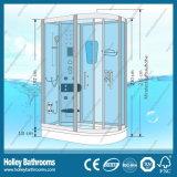 L casa do chuveiro da alta qualidade da forma com a porta do vidro geado (SR119M)