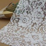 Lacet attaché par jacquard de tissus de coton pour le vêtement