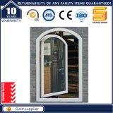 Doble ventana de aluminio estándar de la vidriera Australia del grano de madera (50)