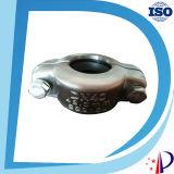 Couvercle du couvercle du connecteur Couplage des éléments de bride de tirage