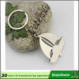 Estado Shaped Keychain promocional, recuerdo Keychain de la casa del metal del agente de casa