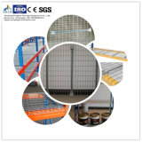 Stahldraht-Plattform-Panels, MaschendrahtDecking, Draht-Plattform-Geländer für Speicherzahnstange