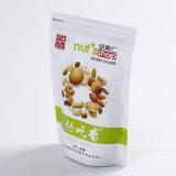 Malote laminado de pé do feijão de café com fechamento do fecho de correr/saco plástico da embalagem com Ziplock (ML-E12)