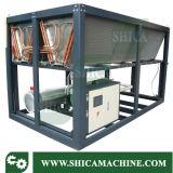 Tipo grande refrigerador industrial do refrigerador de água do parafuso com o compressor 100HP
