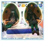 A maioria de equipamento interessante do parque de diversões 1 ovo 9DVR, 2 ovos 9d Vr, 3 cinema dos ovos 9d do cinema 6 dos ovos Vr9d do cinema 4 dos ovos 9d Vr