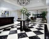 Negro copia en mármol pulido Porcelana Baldosas de suelo 800x800 cerámica para el suelo de baldosas de piedra del azulejo
