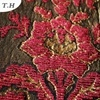 赤いシュニールのジャカードファブリック製造者(FTH31178)