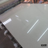 Sparkle White Quartz Flooring Tile Artificial Quartz Stone
