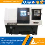 Nueva mini máquina inclinada del torno del CNC de la base del precio bajo Tck-45L