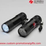 LED-grelles helles Metallberufstaschenlampe-Fackel