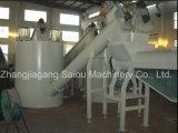 Lavado de botellas de PET aplastamiento de secado Línea de Reciclaje