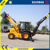 Breaker Hammer를 가진 Xiandai Brand 2 Ton Backhoe Loader