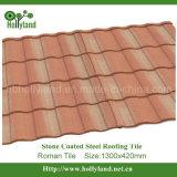 Folha de aço do telhado da pedra revestida (telha romana)