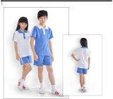 2016年のOEMの夏の昇進の高品質ポリエステル学生服