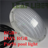 Diodo emissor de luz Light Piscina Luces IP68 Underwater Lamp 54W da piscina de DMX512 Wireless RGB PAR56