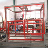 Pavers concretos do cimento hidráulico que bloqueiam a máquina de fatura de tijolo