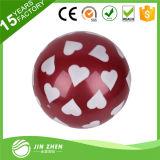 La aduana imprimió la bola impresa plástico del PVC de las bolas con insignia