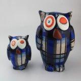 Batería guarra de la promoción del buho decorativo de cerámica creativo de los regalos