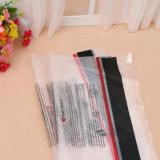 La bolsa de plástico hermosa del LDPE del bolso del paño de la mano del LDPE de encargo de la talla y del diseño de la alta calidad para el paño
