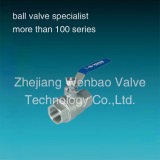 Wb-20 Economical type of Stainless stalk 2PC DIN Ball faded Pn63