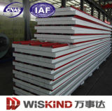 Fireproof insonorizzato Foamed Sandwich Panel per Wall Roof