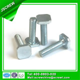 Harden Steel M8 T Shape Custom Special Bolt for Machinery