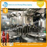 Chaîne de production de mise en bouteilles de boissons carbonatées