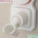 مصد [أبس] بلاستيكيّة أبيض غرفة حمّام [شوورهد] مقبس تجويف حامل